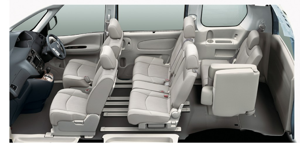 08 Seat Configuration_Family of 6 Mode