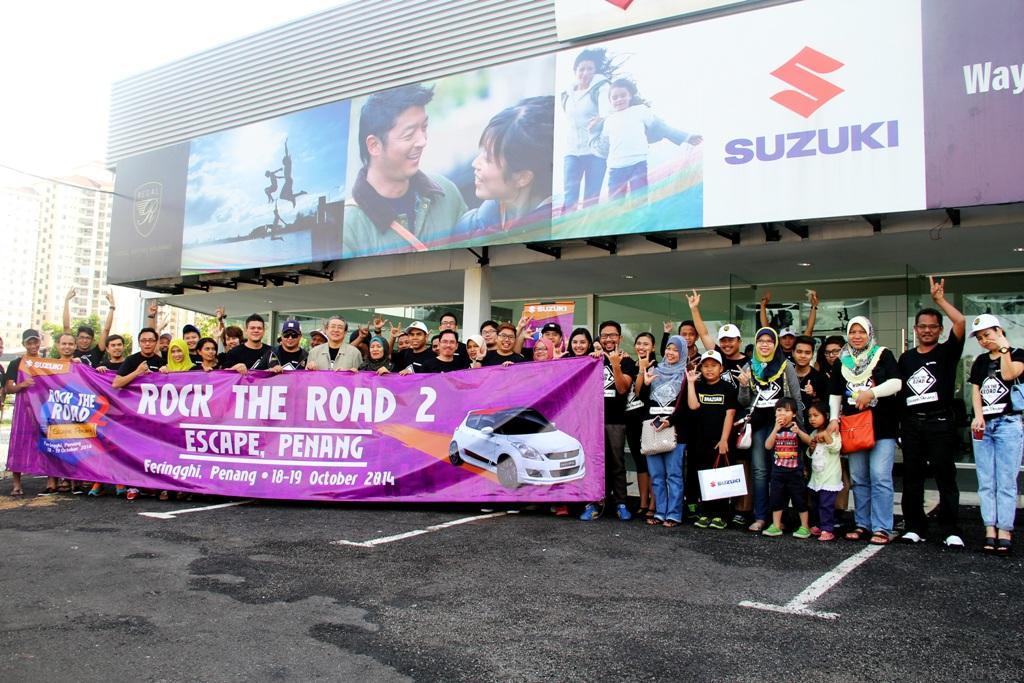 1-Suzuki-Rock-the-Road-2-Escape-Penang-Group-Photo