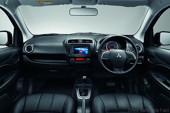 Attrage-SE-interior-dashboard