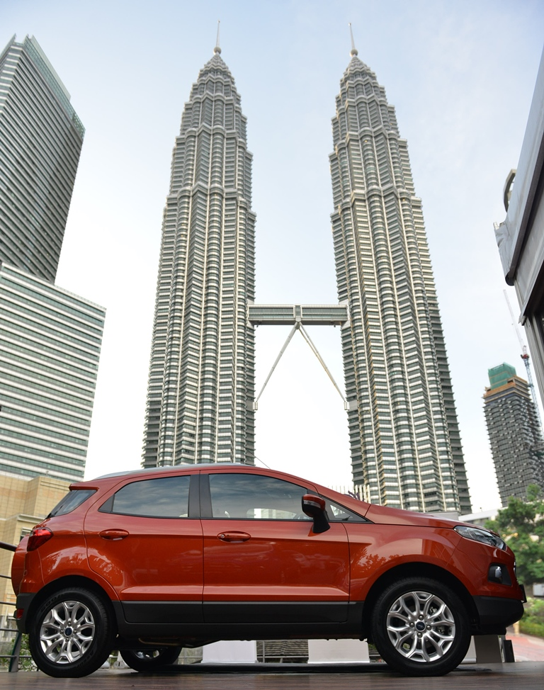 Ford EcoSport launched end of August 2014