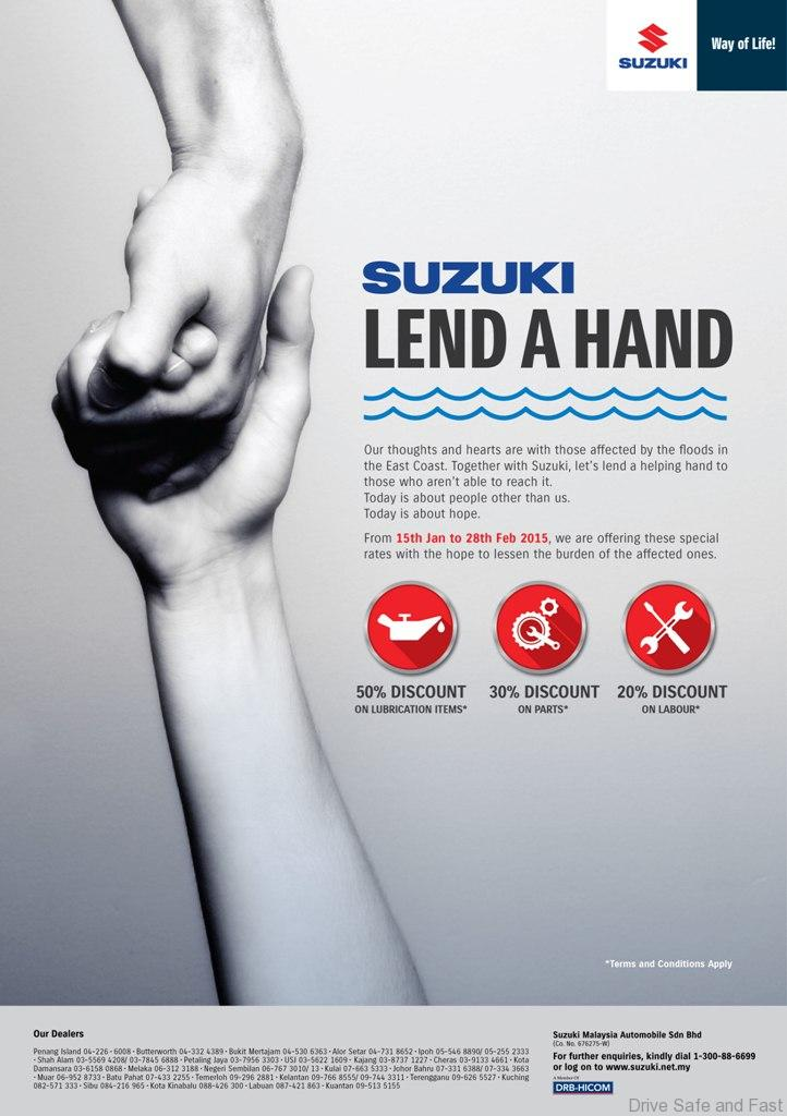 Suzuki-Lend-a-Hand-Service-Campaign