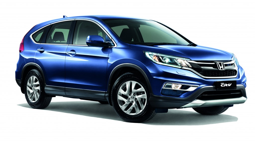 New CR-V 2.0L Twillight Blue Metallic