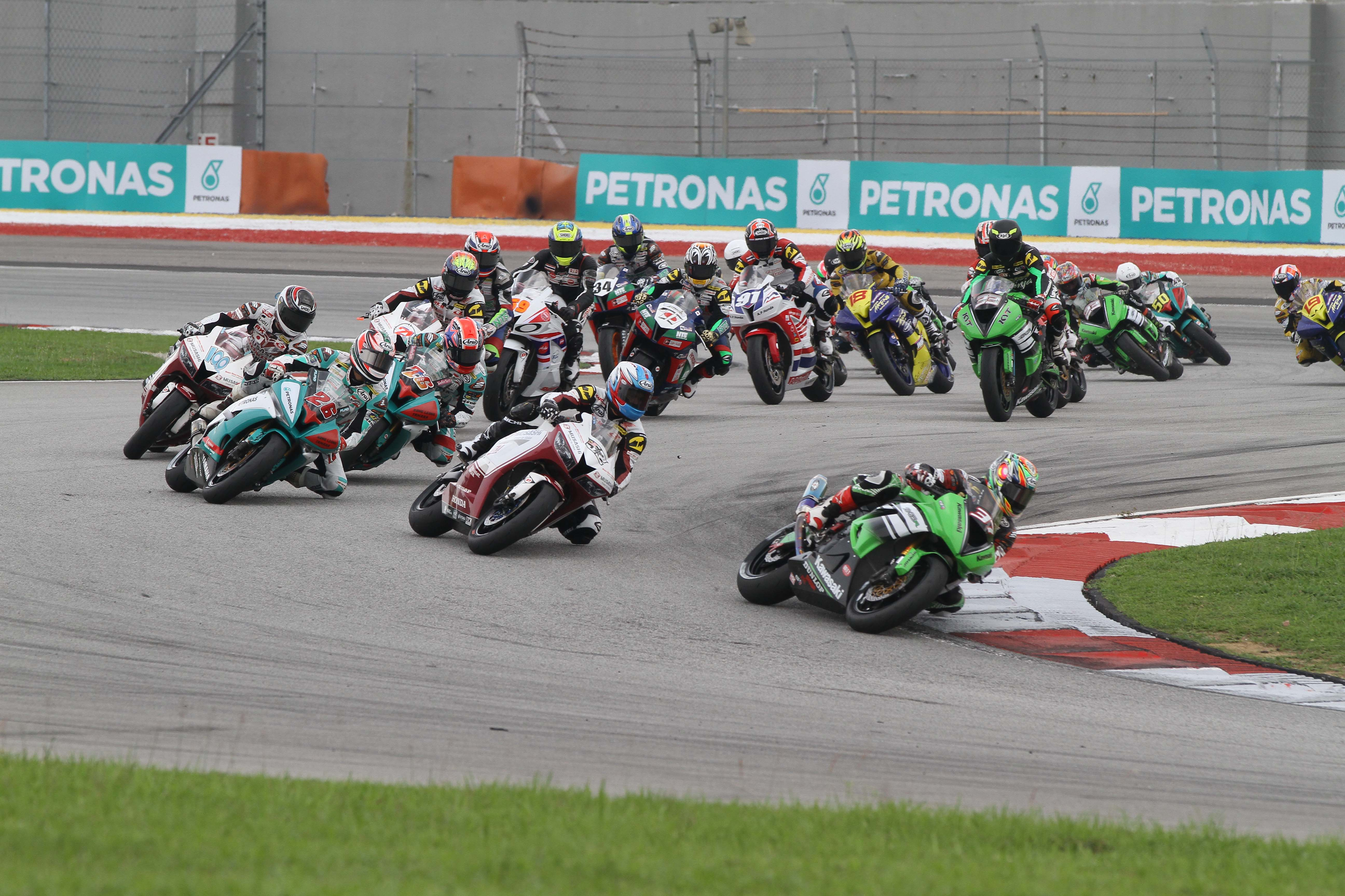 The 2015 ARRC contingent will gather at the Sepang Circuit from April 1-3 for the official pre-season test