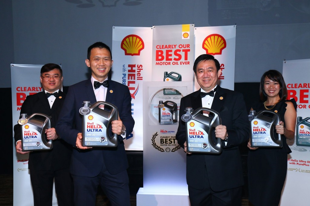 Shell recently launched the highest grade of motor oil in the market