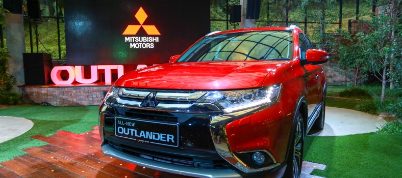 All-New Mitsubishi Outlander SUV Now Open for Bookings to the Malaysian market