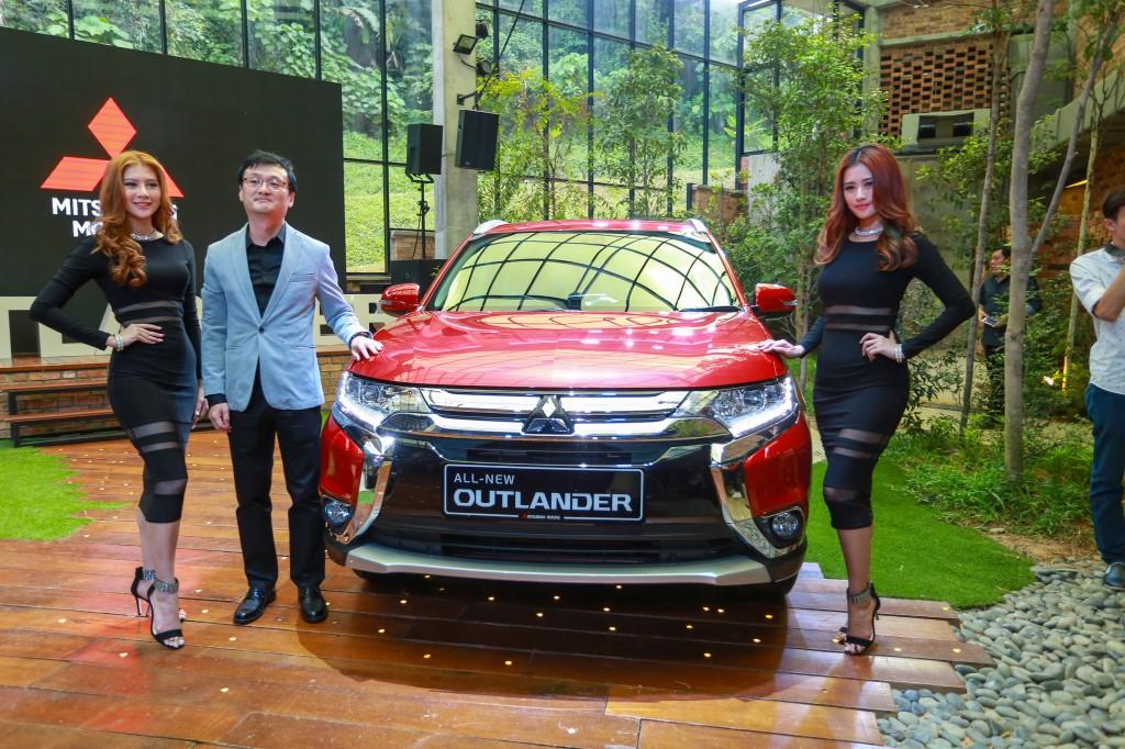 CEO of Mitsubishi Motors Malaysia, Mr. Yang Won-Chul at the media preview of the all-new Mitsubishi Outlander SUV