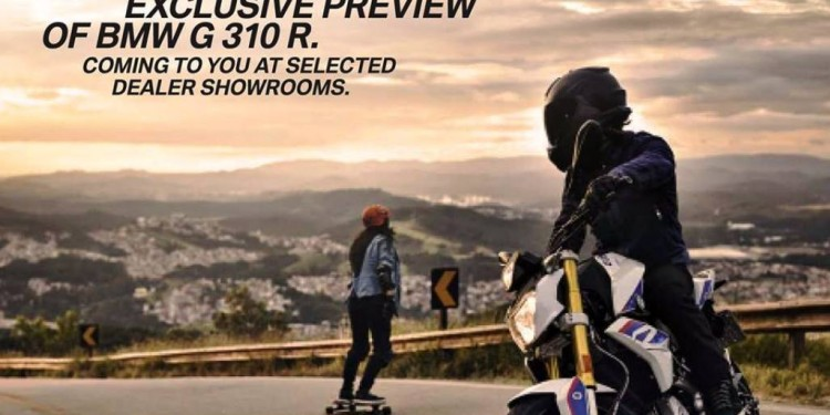 BMW G 310 R preview