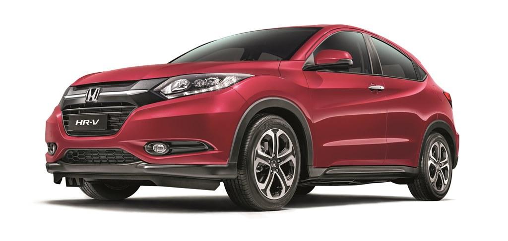 Honda HR-V Dark Ruby Red Pearl 01