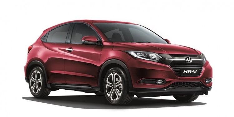 Honda HR-V Dark Ruby Red Pearl 02