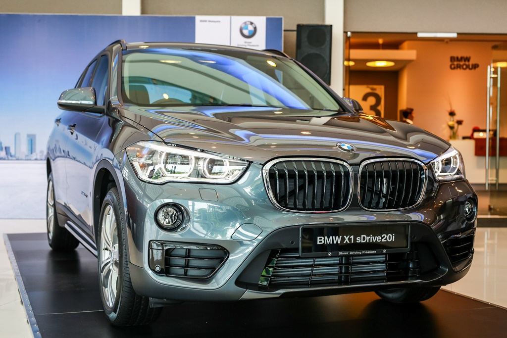 The new locally-assembled BMW X1 sDrive20i  (1)
