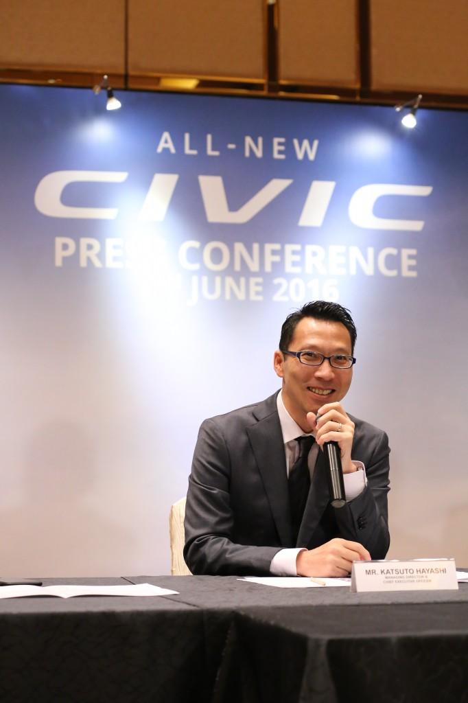 Mr Katsuto Hayashi, MD & CEO of Honda Malaysia_2