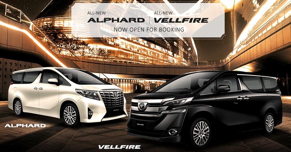 Toyota Alphard & Vellfire Booking