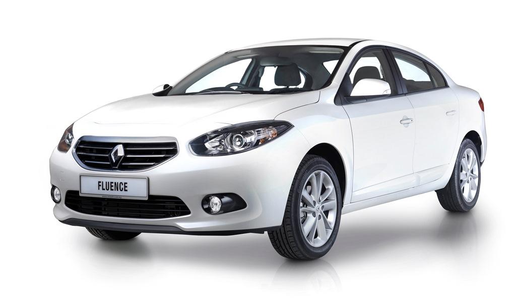 Renault Fluence_White Pearl