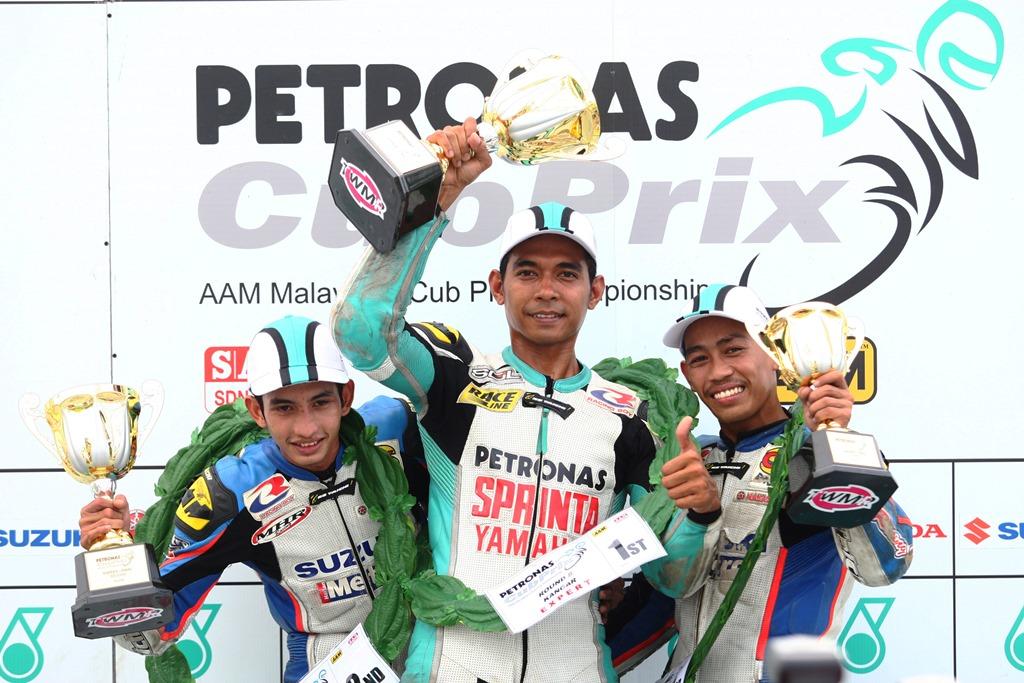 Ahmad Fuad Baharudin, juara pertama kategori CP130