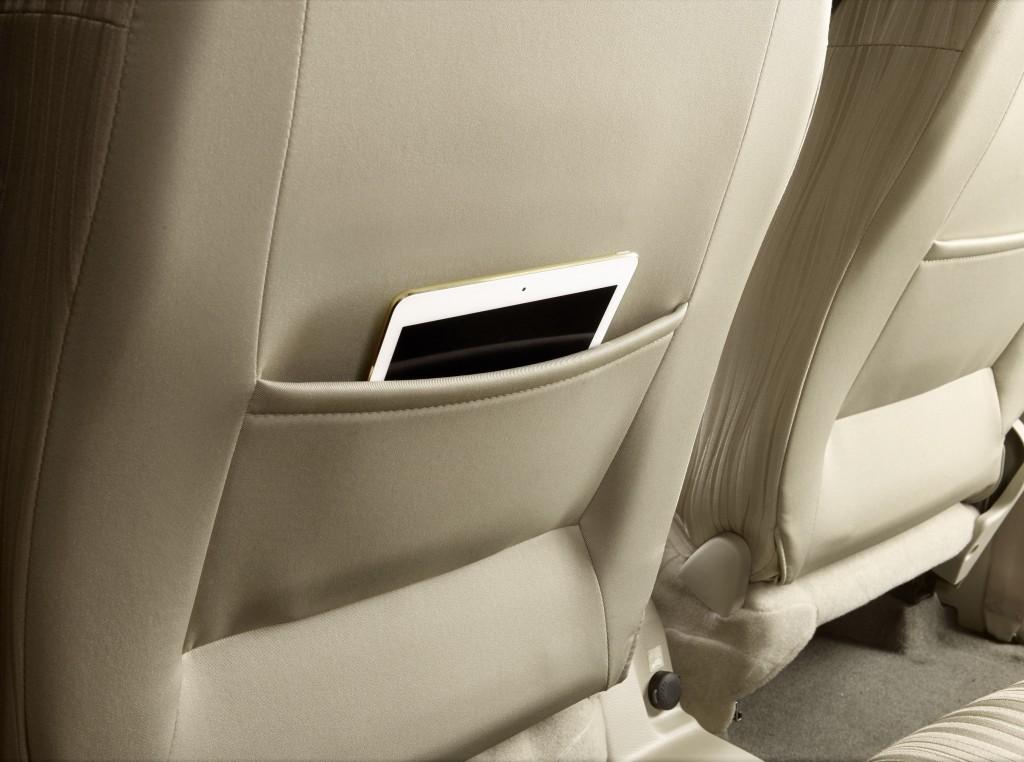 Front Seat back pocket