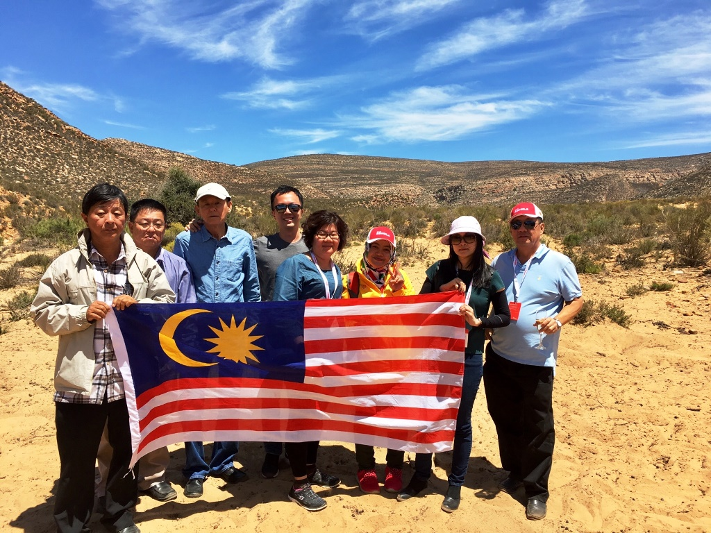 The Malaysian contingent in South Africa_2
