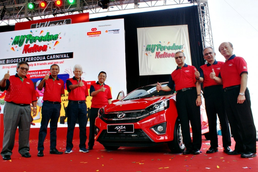 Perodua Axia Facelift Launch 01
