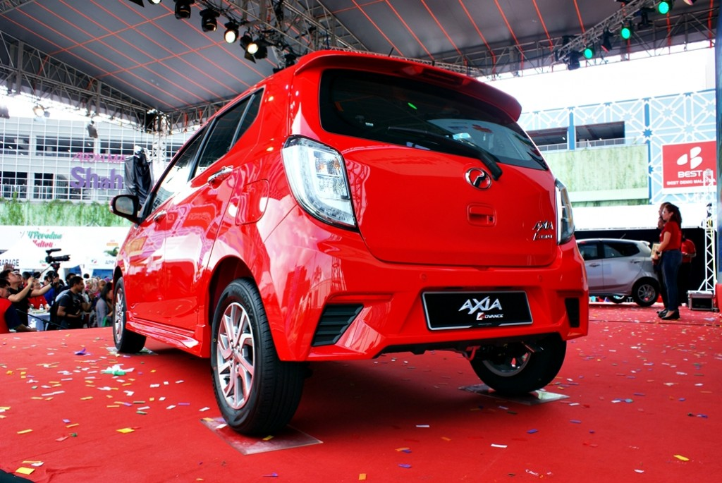 Perodua Axia Facelift Launch 06