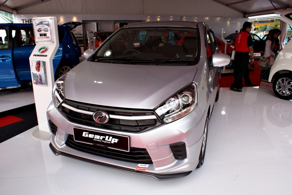 Perodua Axia Facelift Launch 20