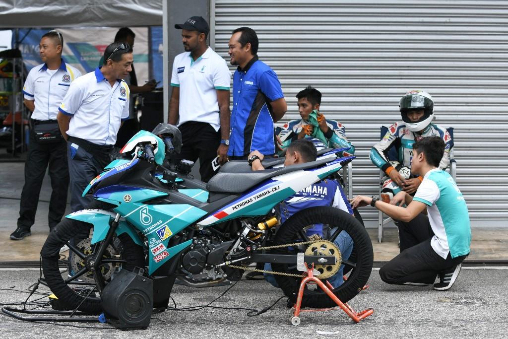 Cub Prix - Pasukan PETRONAS Yamaha CKJ