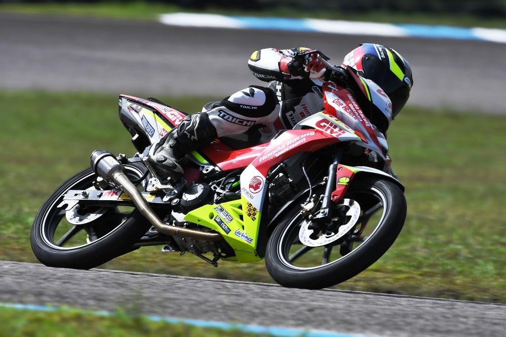 Azroy Hakeem fastest UB150cc