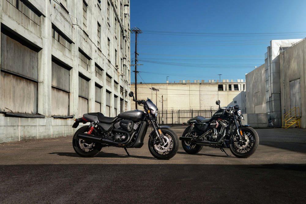 Harley-Davidson Street Rod 750 06