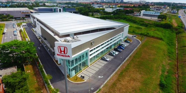Kah Motor's newest Honda 4S Centre which is the biggest in Malaysia