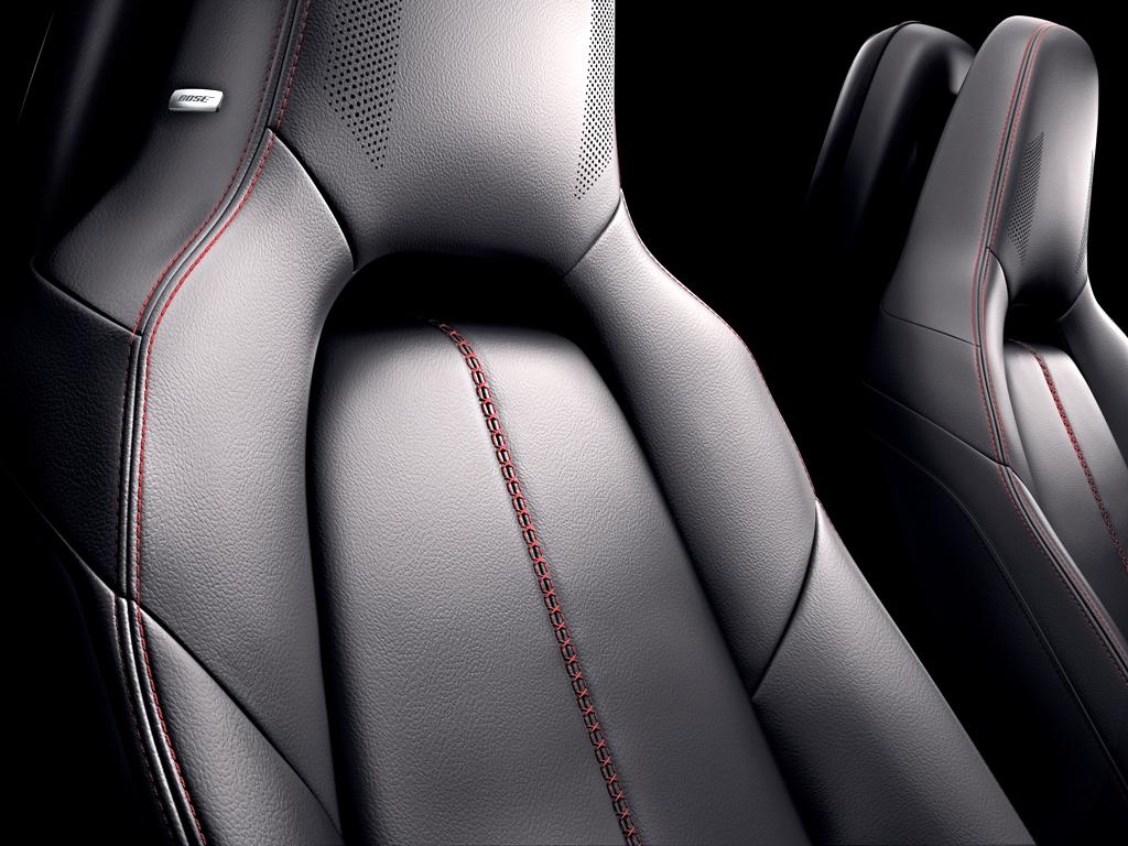 RF Details-Bose Seat Speakers