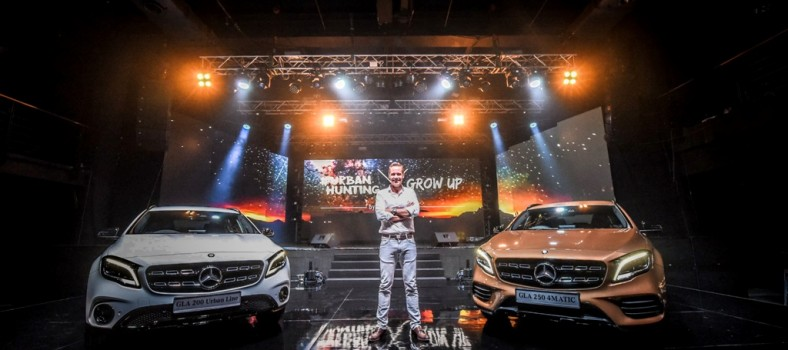 Mark Raine, Vice President, Sales & Marketing Passenger Cars, Mercedes-Benz Malaysia at the new generation GLA Launch