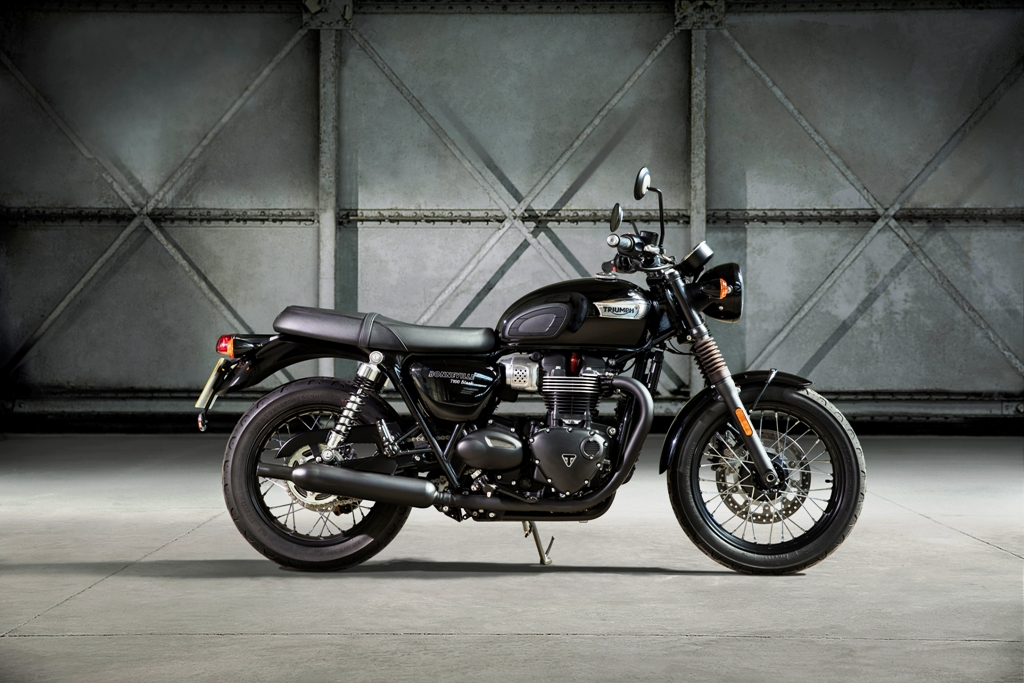 Triumph T100_BLACK