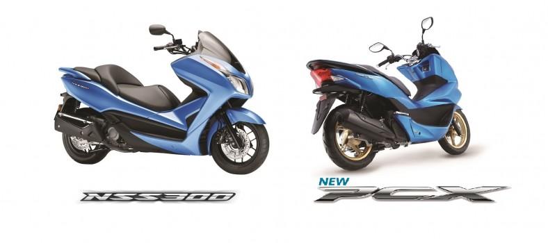2017 Honda NSS300 and PCX