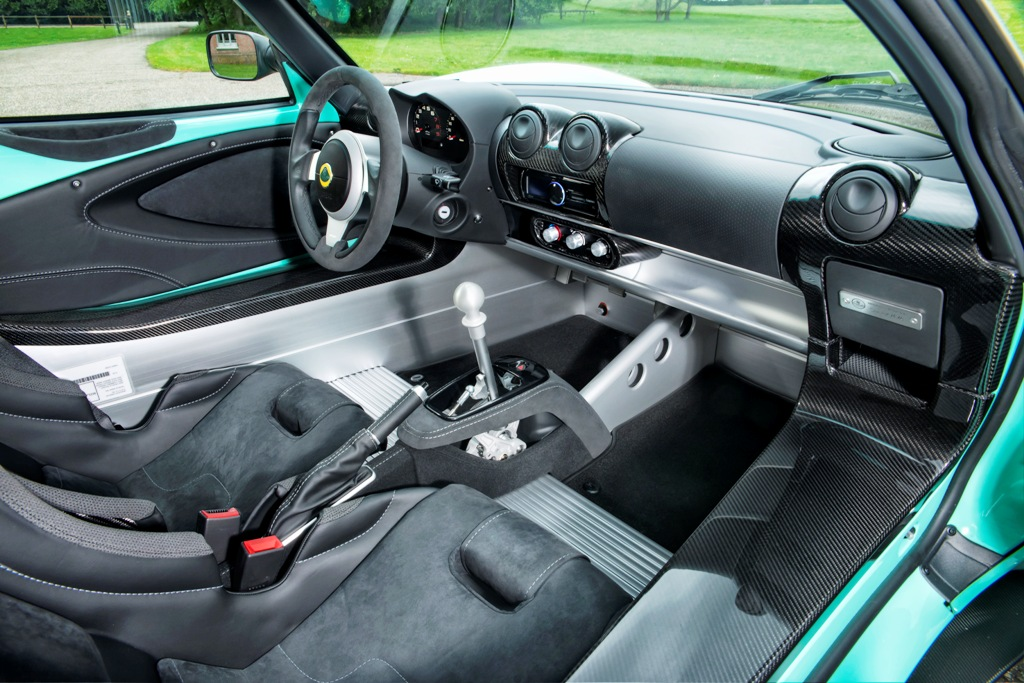 Elise Cup 250 Interior