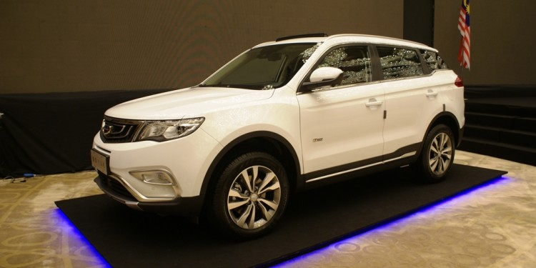 Geely Boyue Preview 11