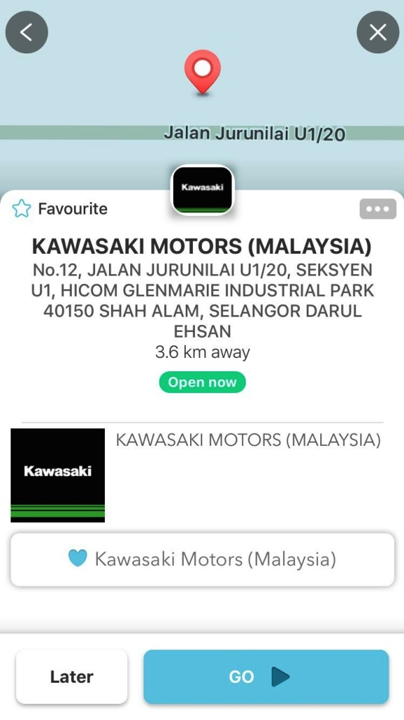 Kawasaki Waze