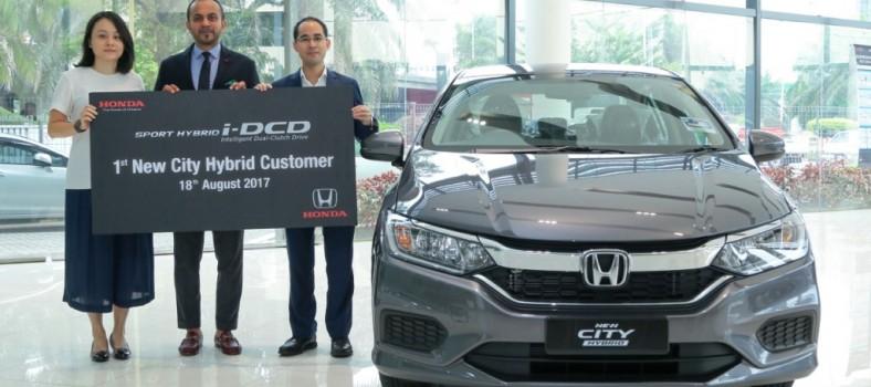 Honda City Sport Hybrid 1st delivery
