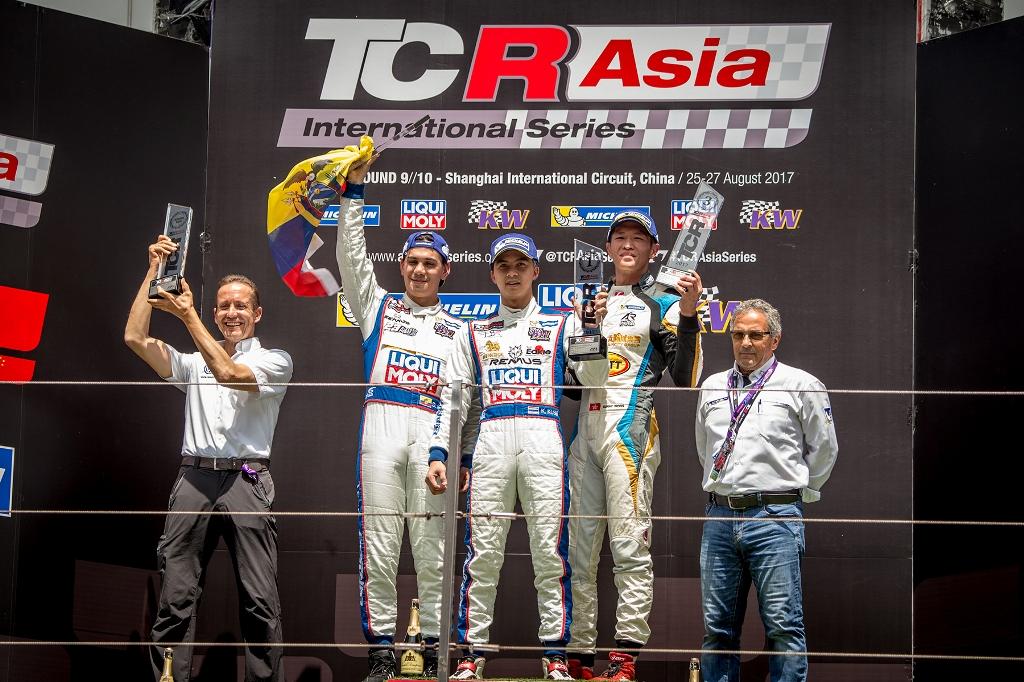 TCRAsia_Shanghai_270817_R2_podium_HO_med