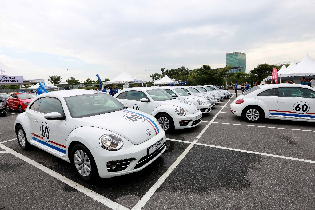 The limited edition 60th Merdeka Edition Beetle - only 16 units