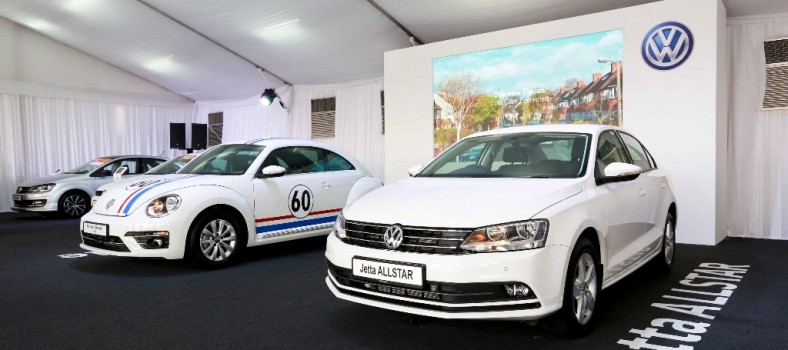 Two special editions - the Jetta ALLSTAR and the 60th Merdeka Edition Beetle