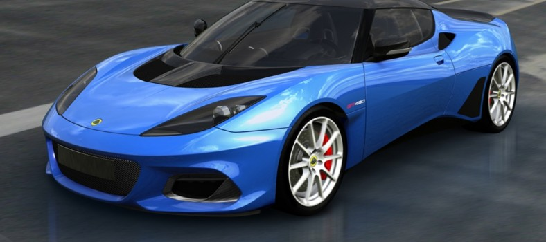 Lotus Evora GT430 [Blue] (1)