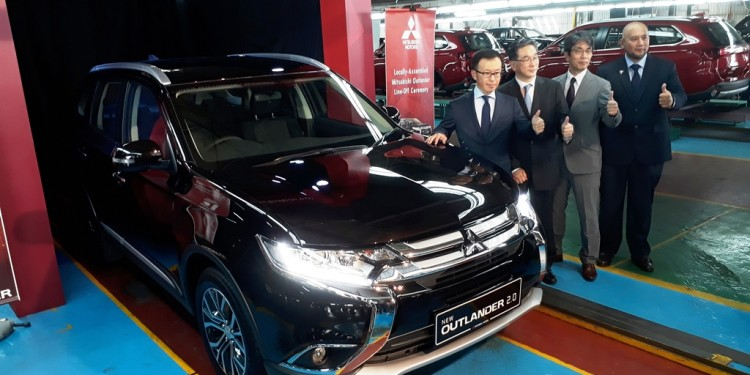 Mitsubishi Outlander CKD Launch 02
