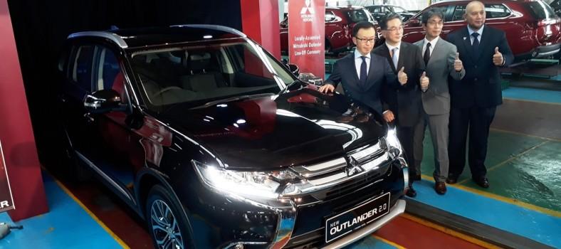 Mitsubishi Outlander CKD Launch 02