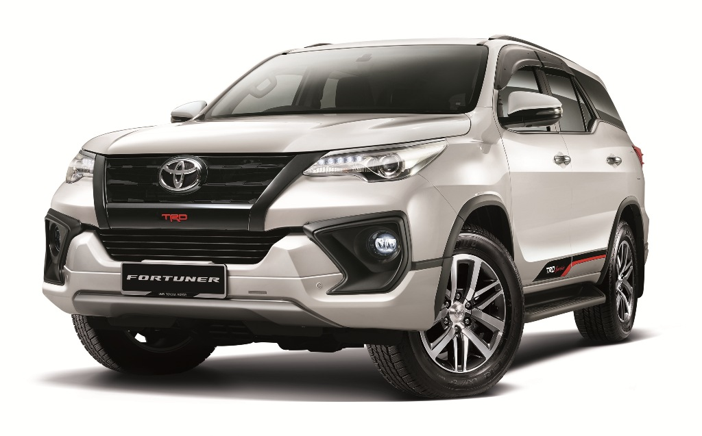 Fortuner 2.4 VRZ & 2.7SRZ with Optional TRD Sportivo Package (Front)