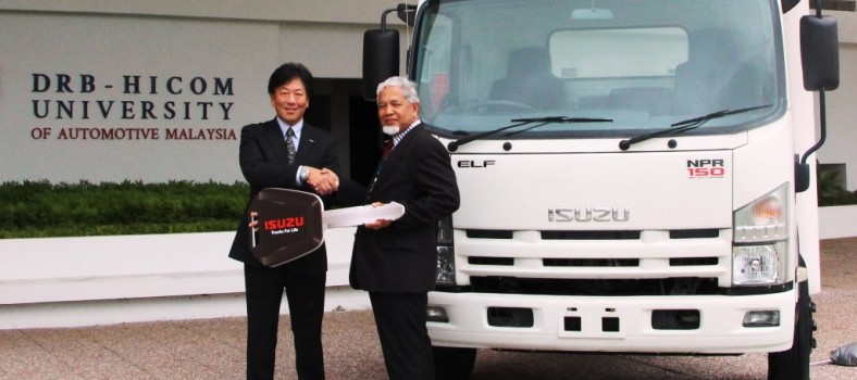 Photo - Isuzu Truck for Education Enhancement at DHU