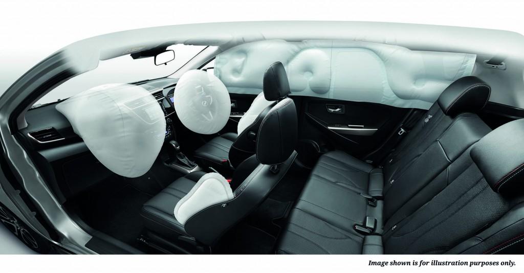 6 Airbags (AV Variant)