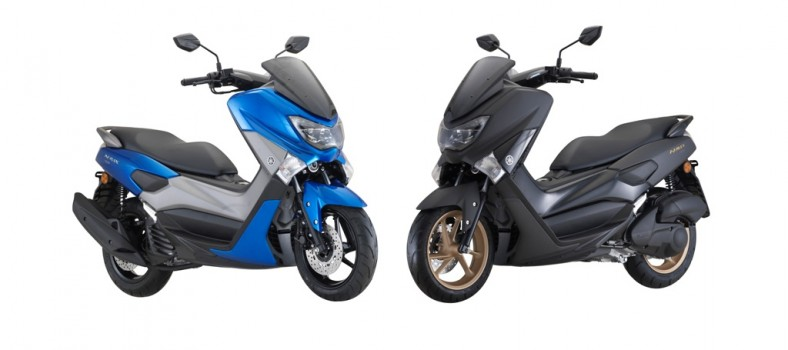 Yamaha NMAX blue black