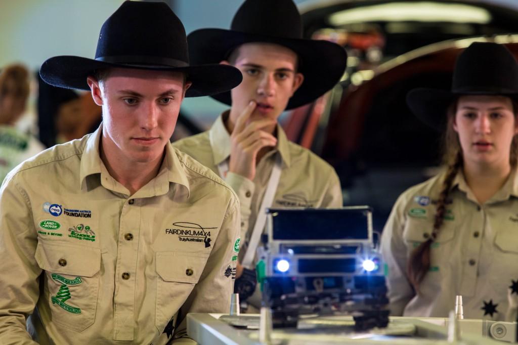 Fair Dinkum 4x4 (Australia) at the Land Rover 4x4 In Schools World Finals