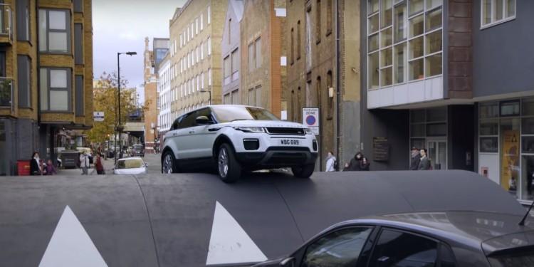 Range Rover Evoque speedbump