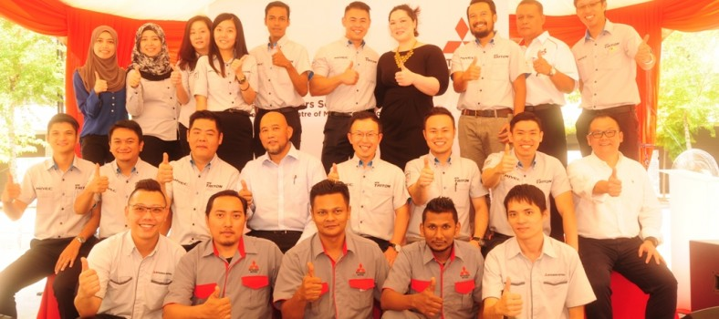 Management Team of Mitsubishi Motors Malaysia and Esperance Motors