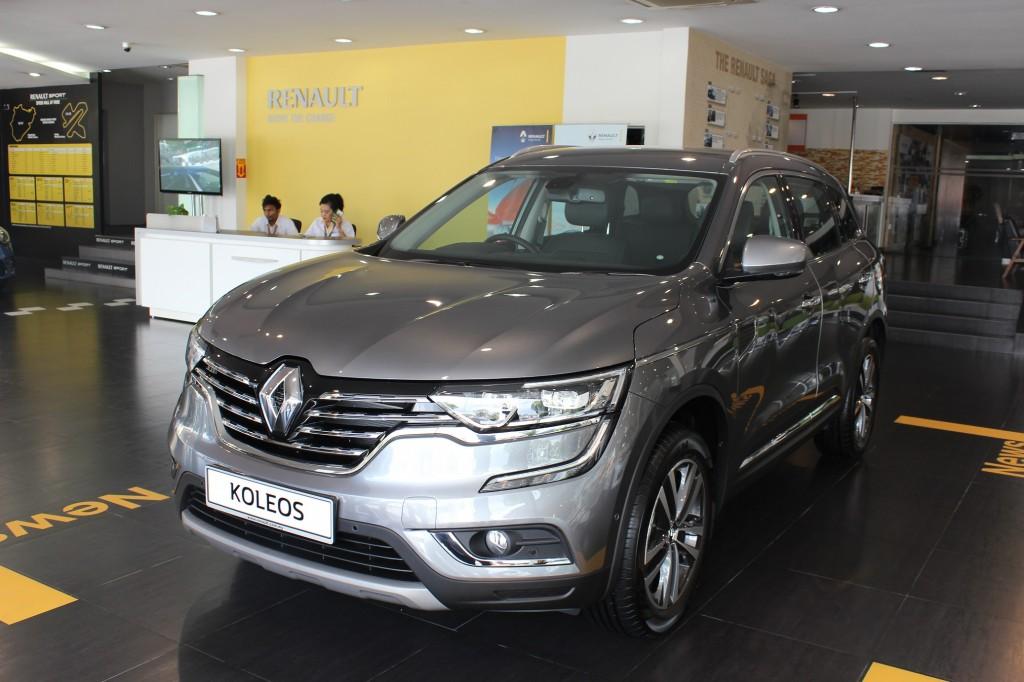 Koleos_Renault's Premium D-SUV