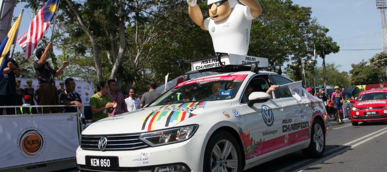 The Volkswagen White Jersey for the Asian Champion